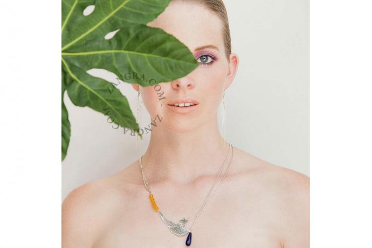leaf-women-thuja-earrings-gold-jewellery-silver