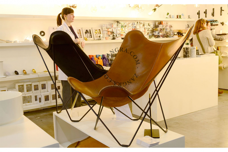 butterfly-leather-cowhide-chair-AA-brown-BKF