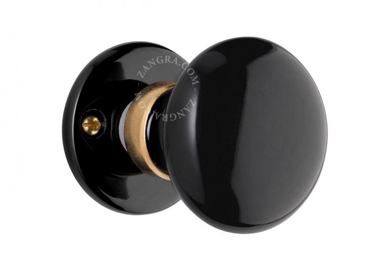 porcelain-door-handle-black