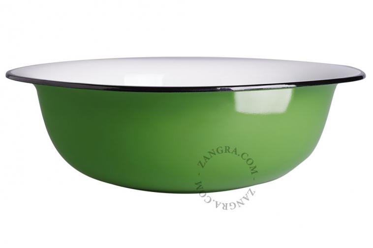 green-enamel-bowl-tableware