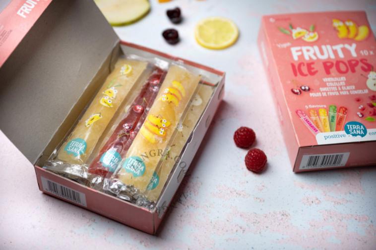 fruity ice pops organic