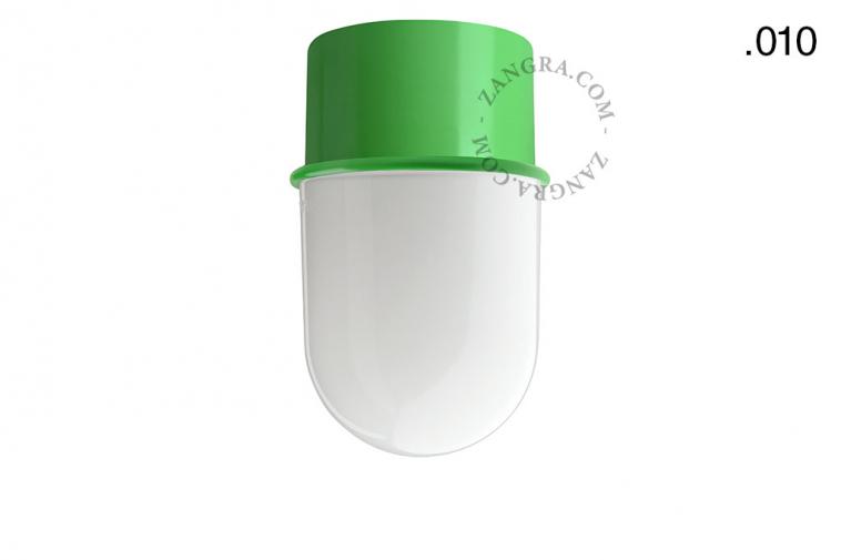 light-wall-lamp-lighting-metal-green-glass-globe-shade