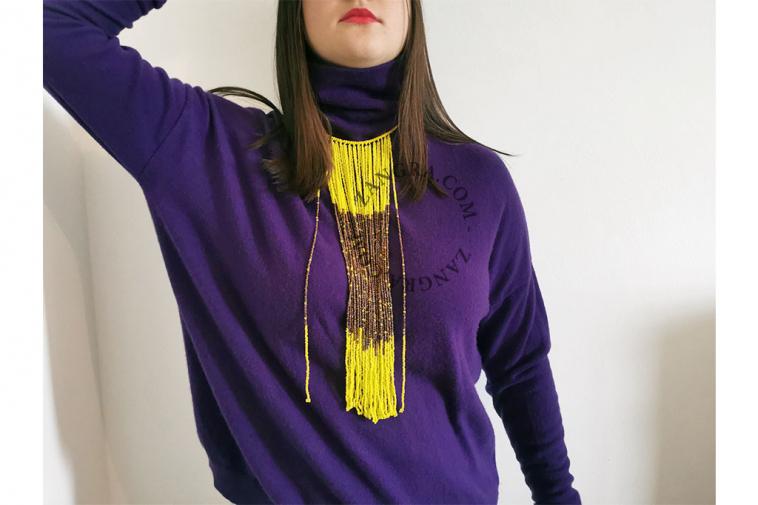 fairtrade-bead-ethnic-necklace-multicolor-yellow-glass