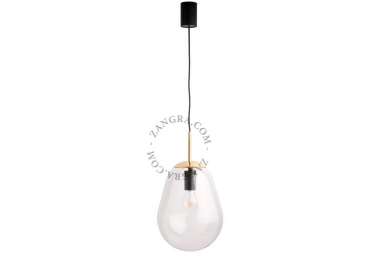 steel-glass-pendant-lighting-lamp