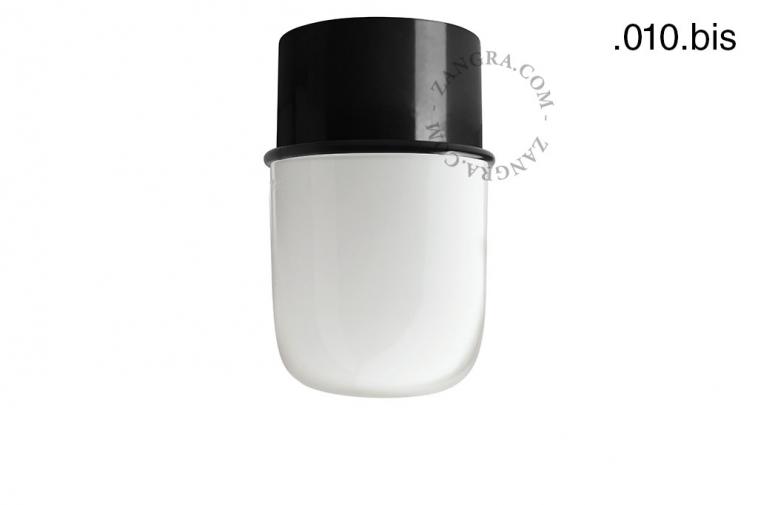 light-wall-lamp-lighting-metal-black-glass-globe-shade