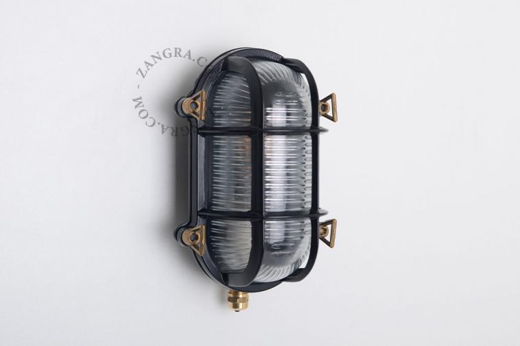 brass-lamp-outdoor-black-waterproof-luminaire