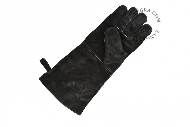 flames-heat-protection-glove-barcecue-leather