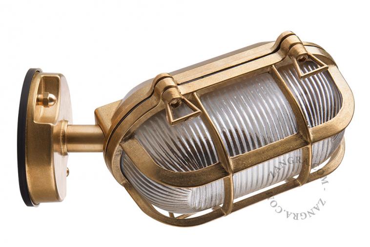 luminaire-lamp-waterproof-outdoor-brass