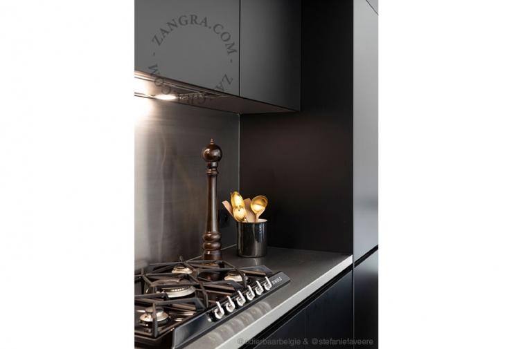 enamel-jar-tableware-black
