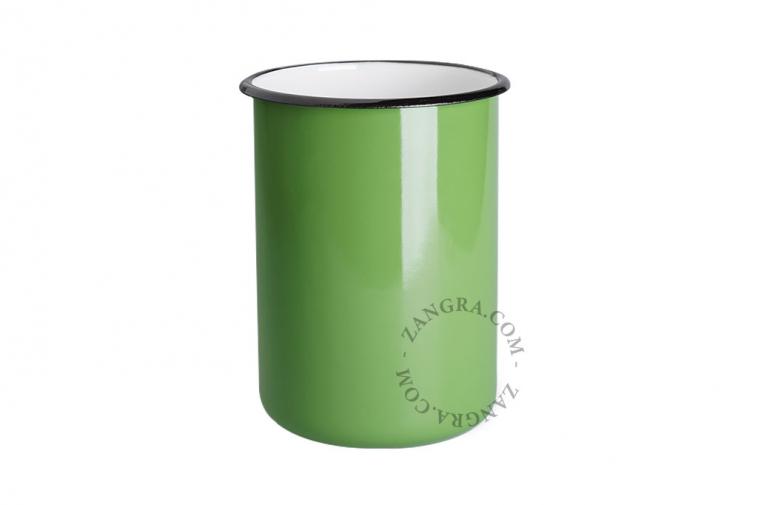 green-enamel-jar-tableware