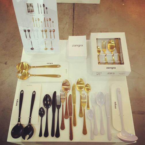 cutlery-salad-gold-servers
