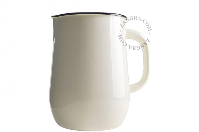 tableware-carafe-enamel-ivory-jug