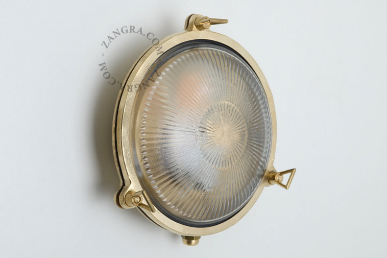 brass-lamp-outdoor-luminaire-waterproof