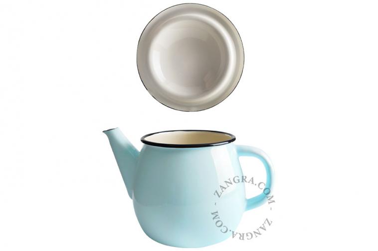 enamel-ivory-blue-tableware-teapot