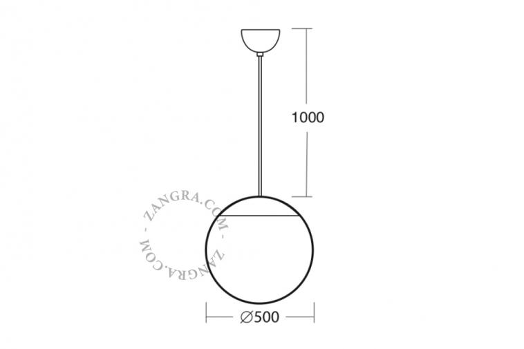 lighting-outdoor-glass-lamp-handmade-pendant-waterproof