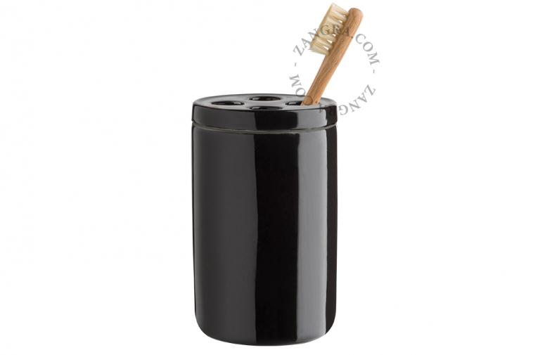ceramic-bathroom-accessories-set-toothbrush-holder-container-cup-black