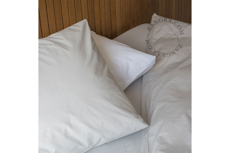 fitted sheets uni grey   bed linen