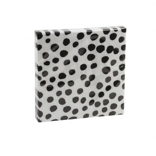 kitchen053_004_l-paper-papier-napkins-servetten-servietten-serviettes-dots-black-white