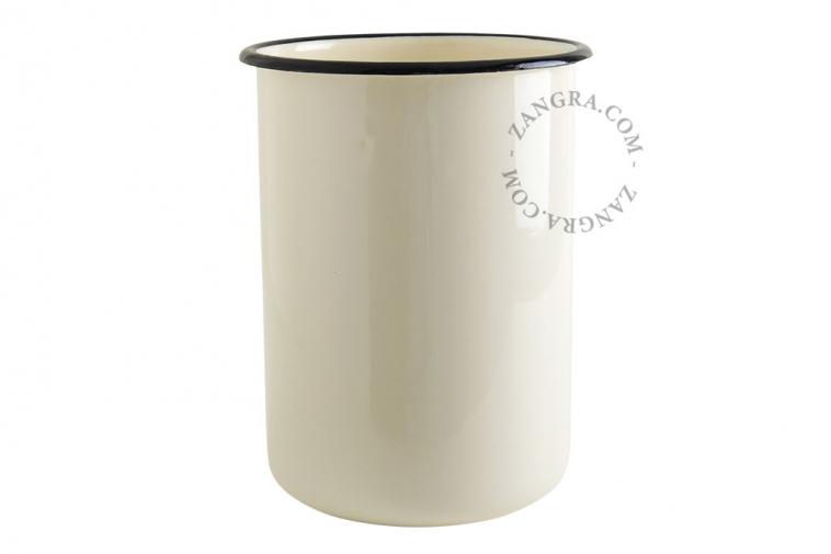 ivory-enamel-jar-tableware