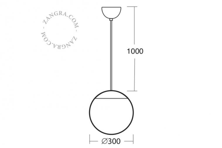 glass-handmade-lamp-pendant-waterproof-outdoor-lighting