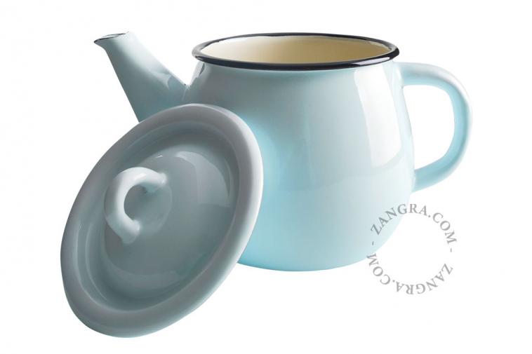 tableware-blue-teapot-ivory-enamel