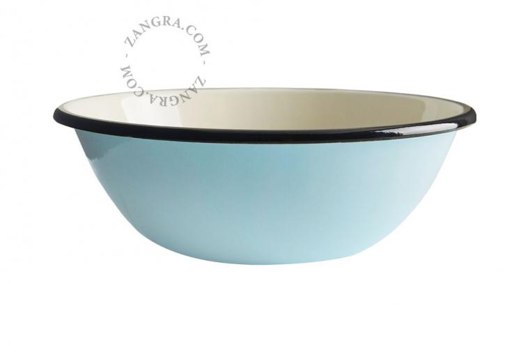 enamel-bowl-blue-tableware-ivory