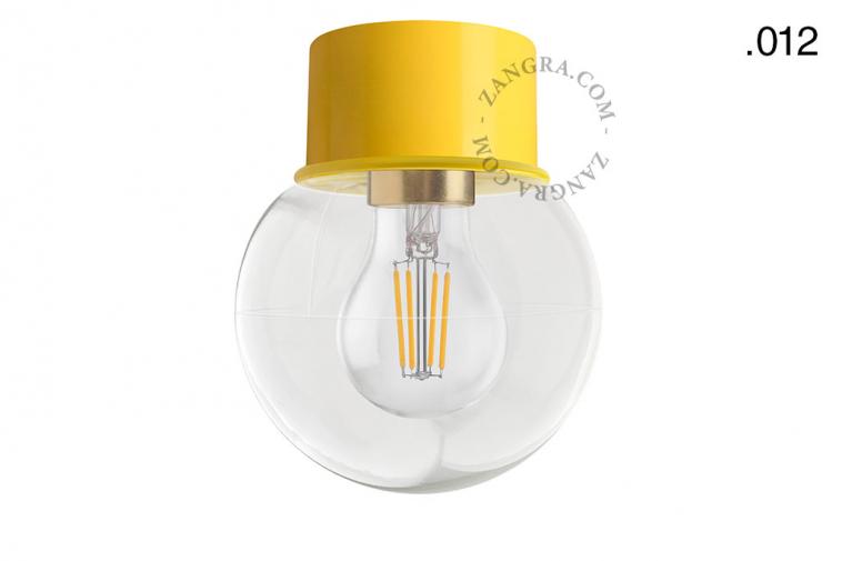 light-wall-lamp-lighting-metal-yellow-glass-globe-shade