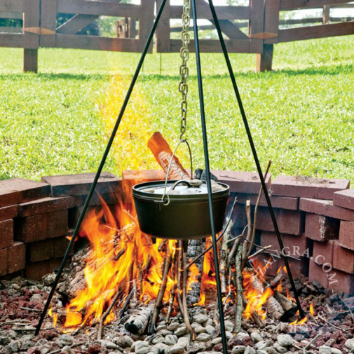 outdoor-oven-tripod-grid-barbecue-chain-stand-dutch
