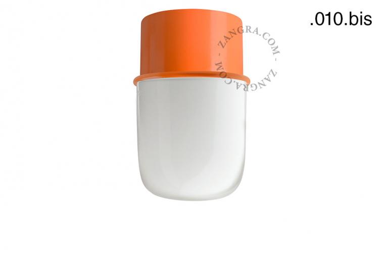 light-wall-lamp-lighting-metal-orange-glass-globe-shade