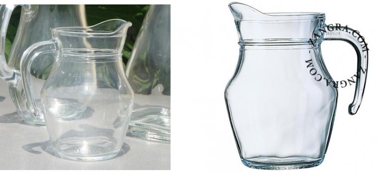 carafe 'broc' 0,5 L water