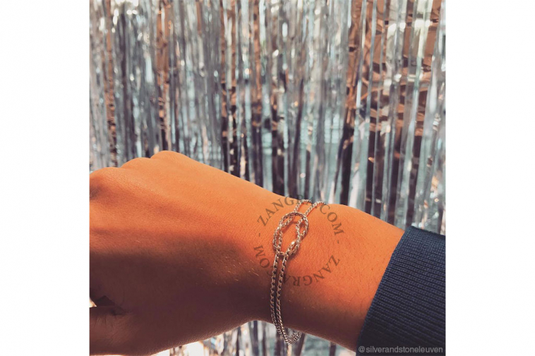 bracelet-women-knot-silver-gold-jewellery