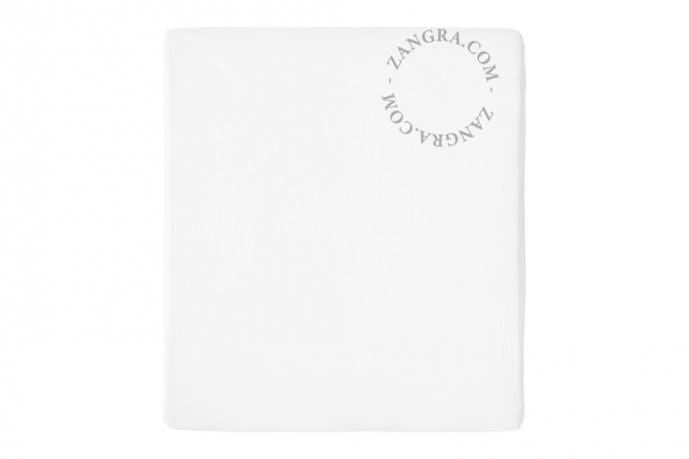 fitted sheets uni white bed linen