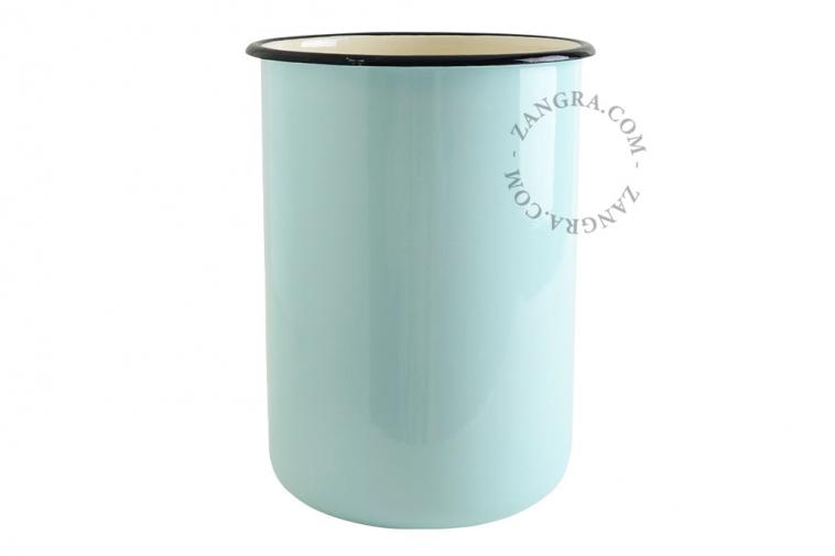 ivory-enamel-blue-jar-tableware