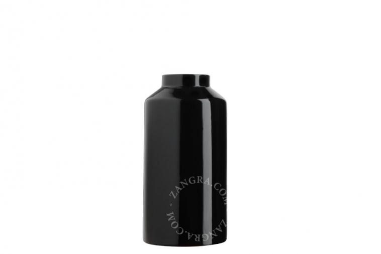 home.075.024.b_l-01-porcelaine-noir-fleurs-flower-pot-vase-porcelaine-black-porselein-vaas-bloemenvaas-zwart