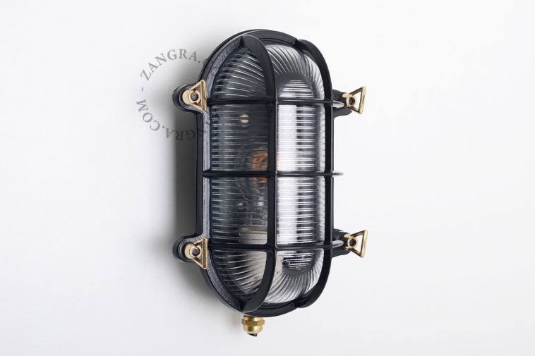 luminaire-waterproof-lamp-brass-outdoor-black