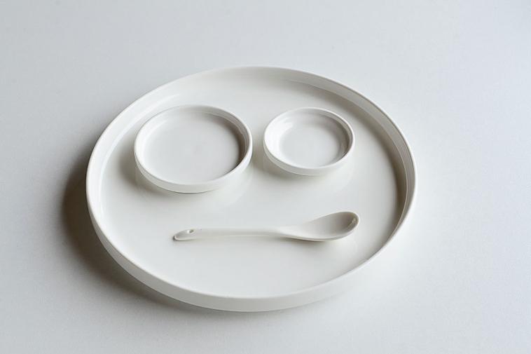 porcelain spoon